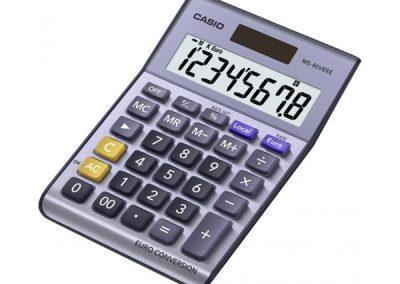 Αριθμομηχανή Casio MS-80 VER